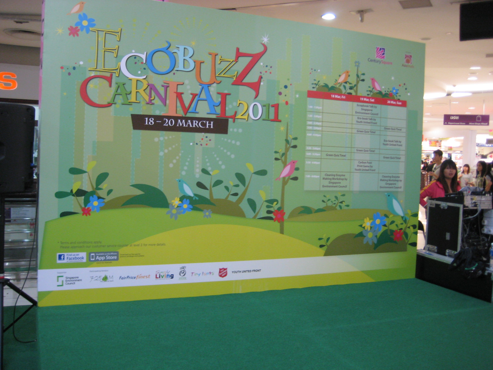 Eco-Buzz Carnival at Century Square