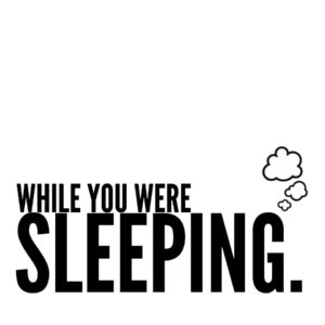 While You Were Sleeping Logo